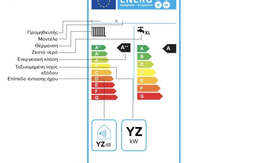 Ενεργειακή αναβάθμιση του λέβητα φυσικού αερίου και πετρέλαιου από Α σε Α+